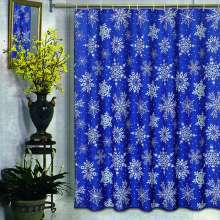 Штора для ванной Carnation Home Fashions Snow Flake